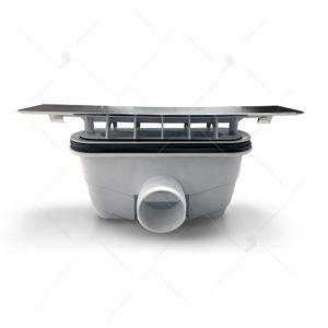 Сифон для душевых поддонов RGW Q10-C (хром)