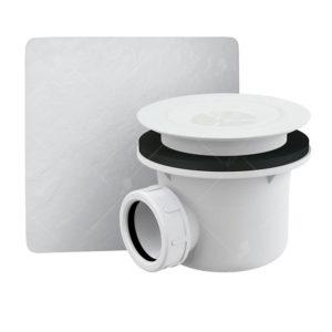 Сифон для душевых поддонов RGW A-048 Белый 90 мм