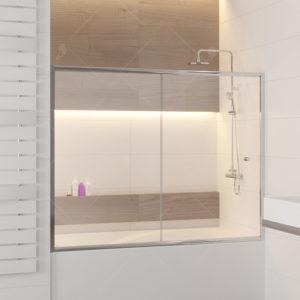 Шторка на ванну RGW SC-043
